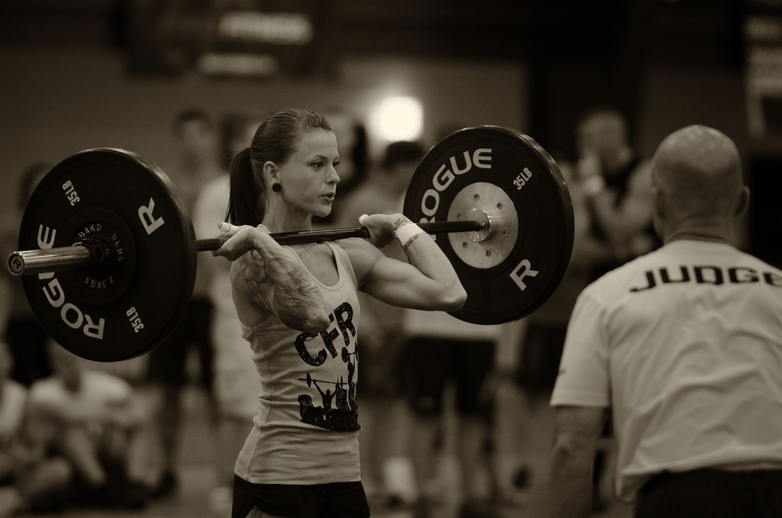 Crossfit women bulky
