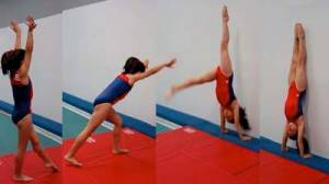 For Friday's class we will cover the progressions on how to kick up into a handstand as well as what to do once you get there!