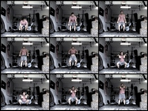 Look at the positions in the squat clean shown above. What positions do you struggle to hit? The middle left shows full hip extension with straight arms. Do you do that? What about the next picture shows the athlete keeping the bar so close that it is literally pulling up his shirt. Do you keep the bar close?