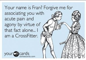 Fran-frekin-tastic!